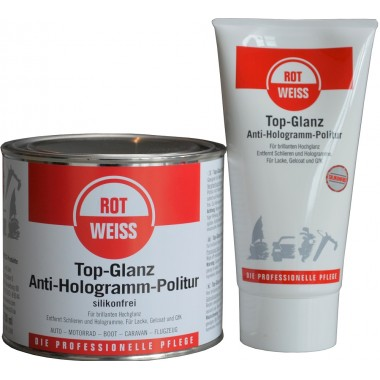 ROTWEISS Top-Glanz Anti-Hologramm-Politur